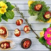 Barvení velikonočních vajec