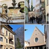 Bolzano – univerzita, trhy a ledový muž