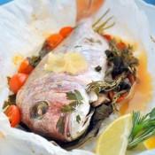 Ryba pečená v papilotě