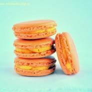 Dýňové macarons