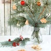 Nepečené šípkové cukroví na stromeček