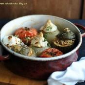 Plněná zelenina na provensálský způsob