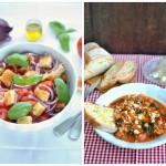 Panzanella a Ribollita - toskánská klasika s pravým toskánským chlebem...
