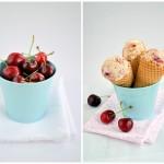 Třešňová jogurtová zmrzlina...