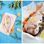 Ryba pečená v papilotě...