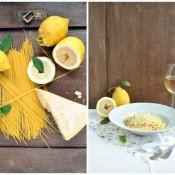 Špagety s citrónem