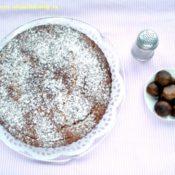 Kaštanový koláč