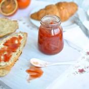 Marmeláda z červených pomerančů s likérem Grand Marnier