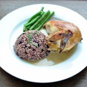 Kuře se sherry omáčkou a rýží z Camarque