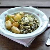 Zelené fazolky s koprem nakyselo
