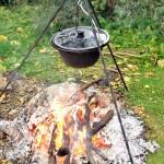 Vaříme na ohni...
