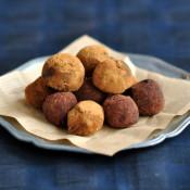 Čokoládové lanýže (tři druhy)