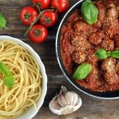 Masové kuličky v rajčatové omáčce