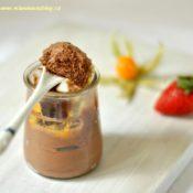 Čokoládová pěna – Mousse au chocolat